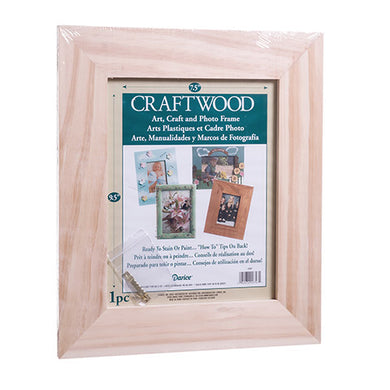 Unfinished Craft Wood Frame - 11.5 x 13.5 inches