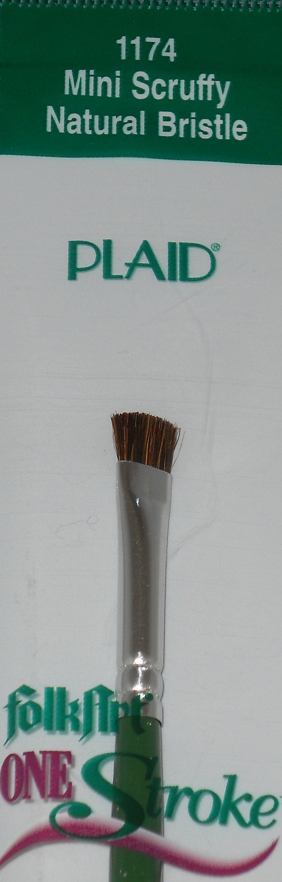 FA 1/4' MINI SCRUFFY BRUSH
