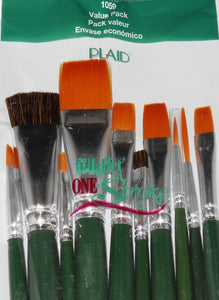 10 Piece Value Pack Brushes