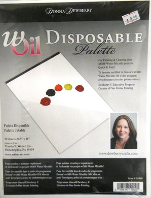 wOil Disposable Palette