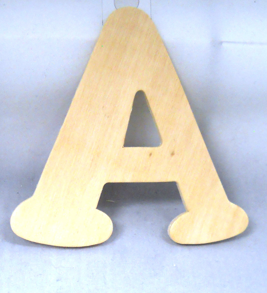 Wood Letters 4.5