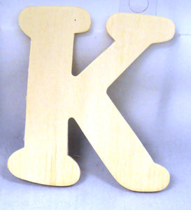 Wood Letters 4.5""