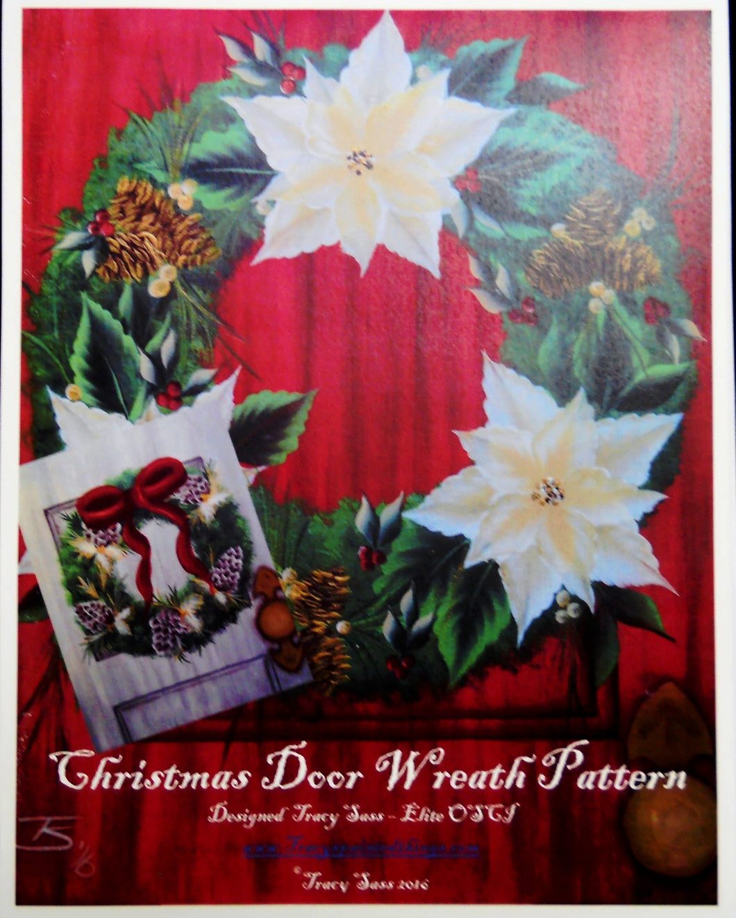 Christmas Wreath Door Pattern