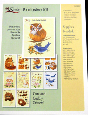 Exclusive Kit Cute & Cuddly Critters Worksheet Pac