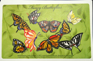 FANCY BUTTERFLIES Recipe Cards