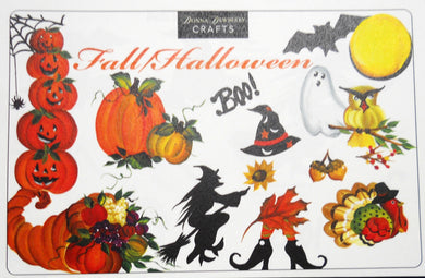 FALL HALLOWEEN Recipe Cards