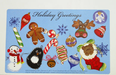 Holiday Greetings - Recipe Cards