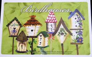 BIRDHOUSES Recipe Cards