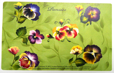 PANSIES Recipe Cards
