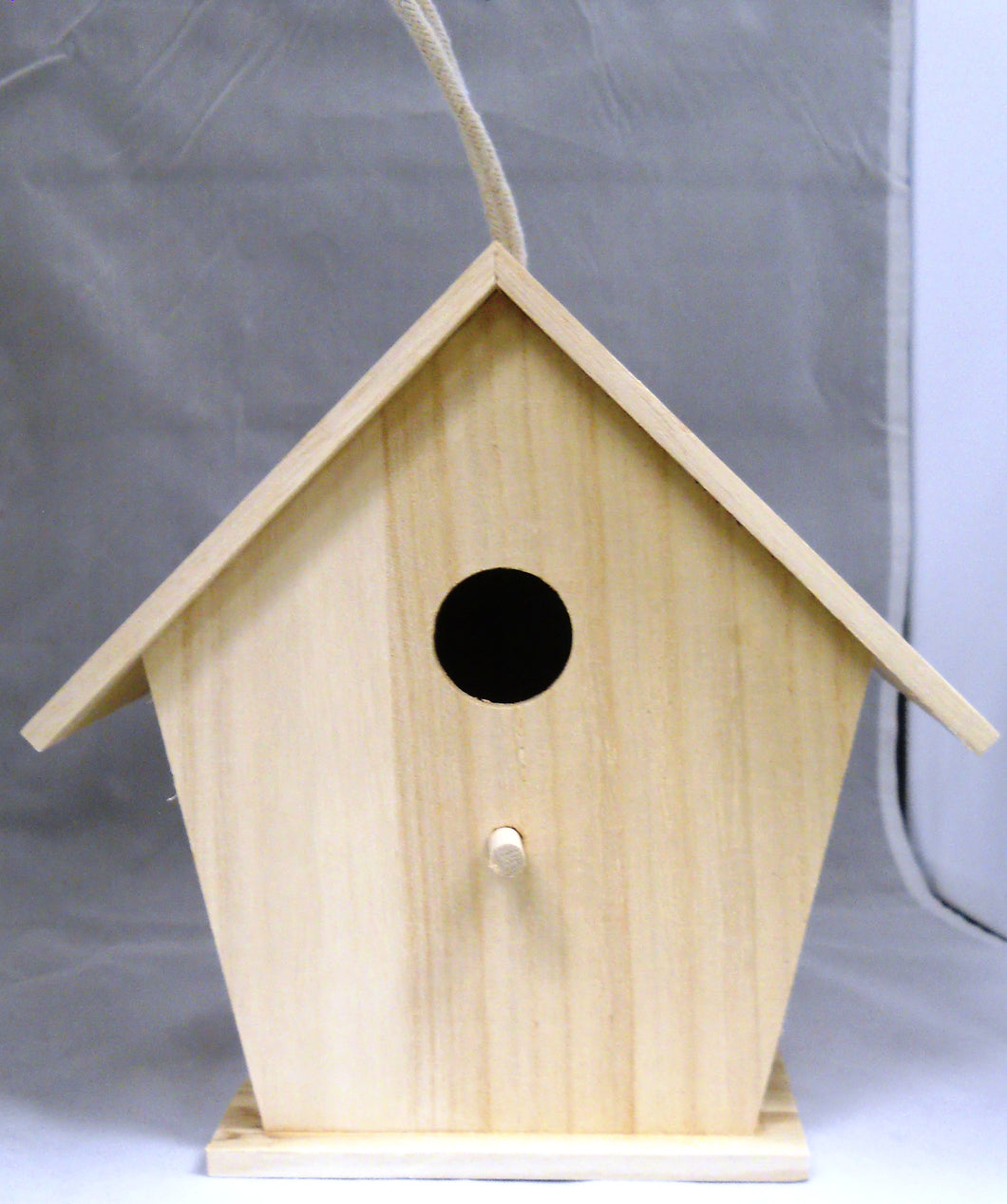 Wood Bird house Unfinished