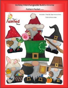 Holiday Build a Gnome Kit - Unfinished