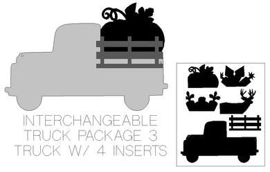 INTERCHANGEABLE TRUCK PACKAGE 3 - unfinished