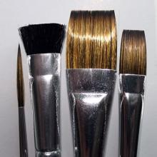 DD 4 PIECE FABRIC BRUSHES