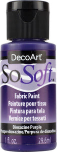 So Soft Fabric Paints 2oz