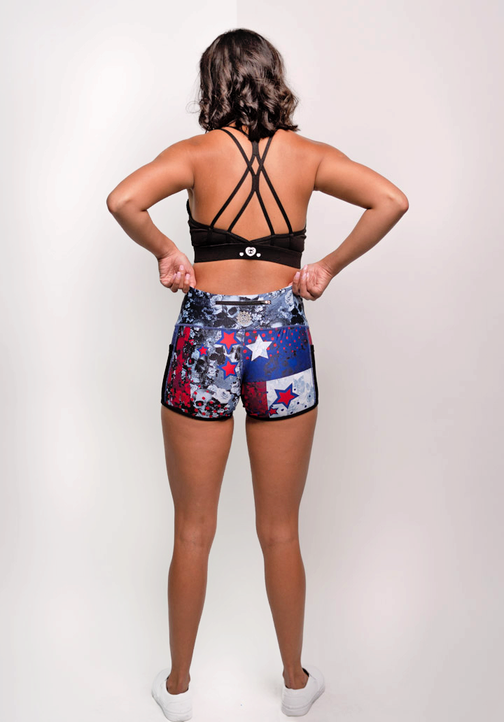 Women's Texas Strong Workout Short