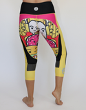 Women's Burger N Fries Workout Capris