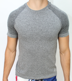 "Grey ""Wick-It"" Short Sleeve"