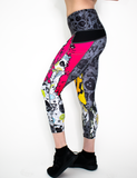 Women's Chemsplash Graff Workout Capri