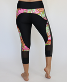 Pink/Green Zombie Workout Capris