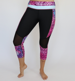 Women's Purple Haze Workout Capris