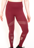 Women's Star Stoned Seamless Legging- Assorted Colors