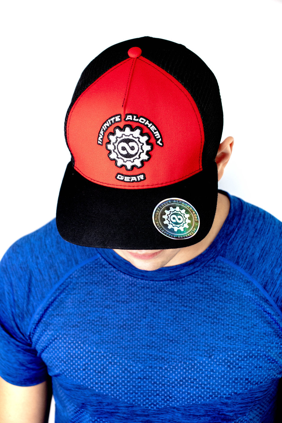 Red & Black Logo Hat