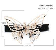 Load image into Gallery viewer, Elsa Butterfly Barrette