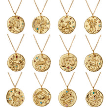 Load image into Gallery viewer, Zodiac Birthday Necklaces
