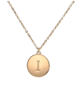 Initial ME Necklace