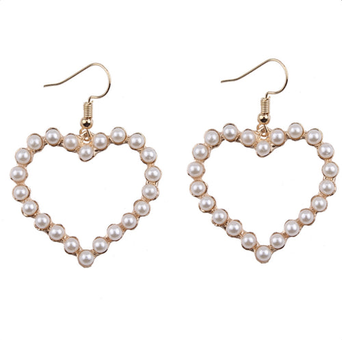 Heart Me Pearl Earrings