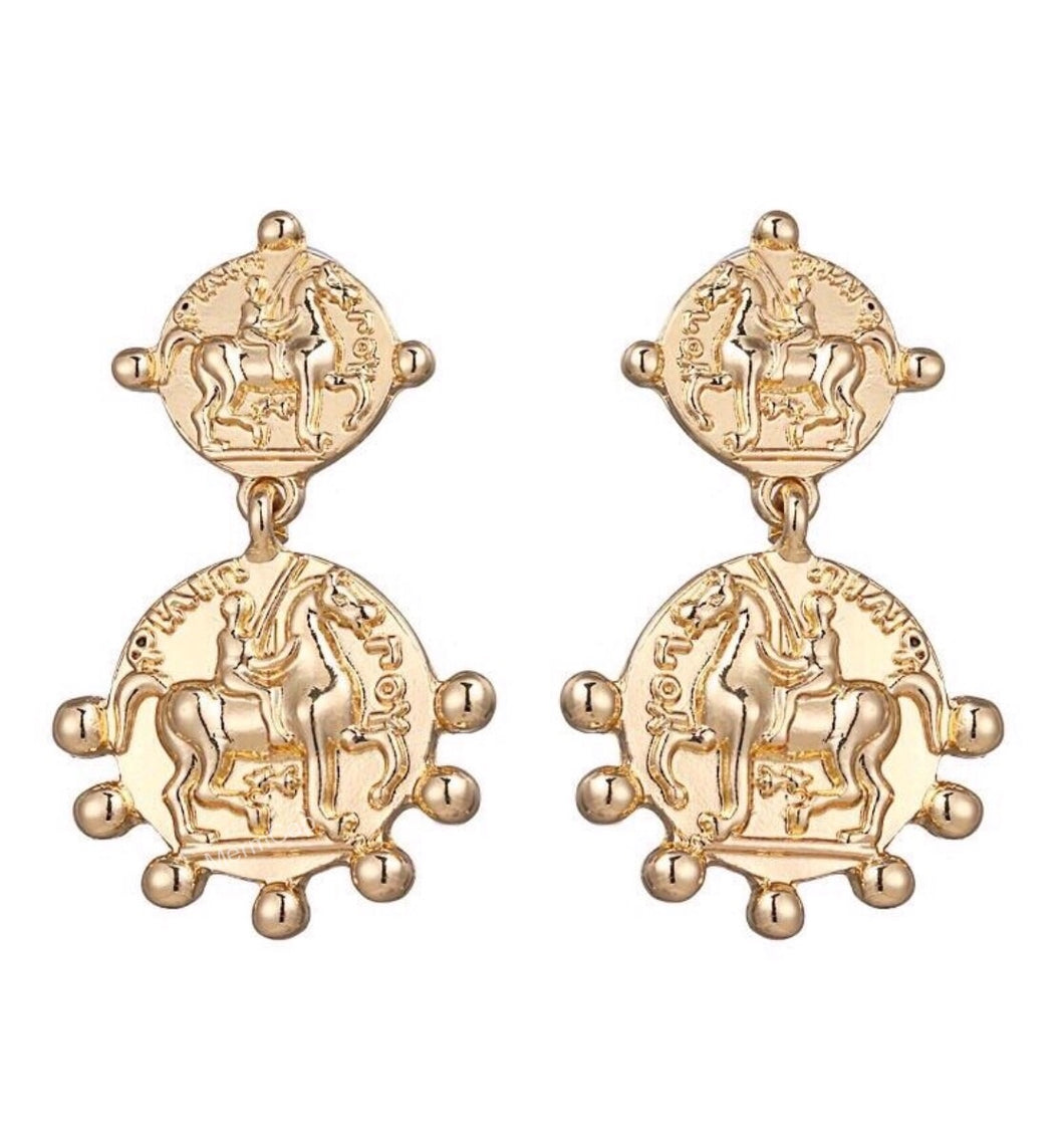 Shinning Knight Earrings