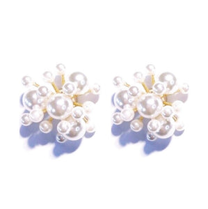 Bursting Pearl Earrings