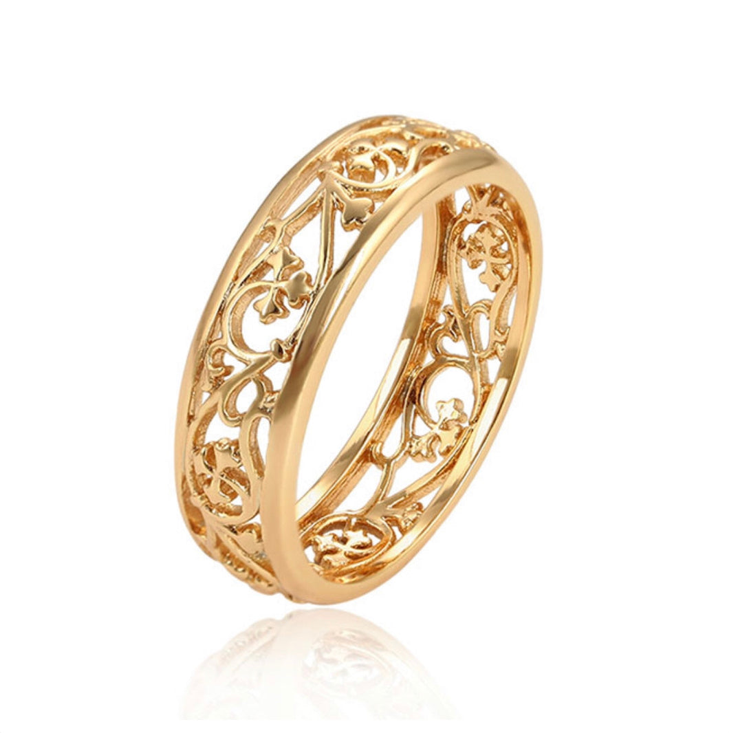 Golden Godess Ring