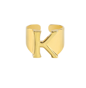 Bold Initial Ring