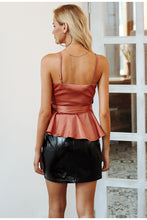 Load image into Gallery viewer, V-Neck Peplum Top