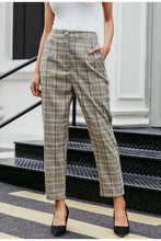 Load image into Gallery viewer, Plaid Pants