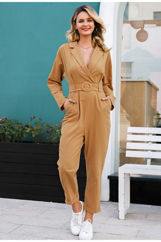 Chic Cotton Jumpsuit