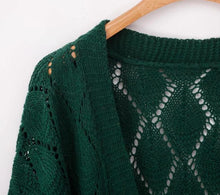 Load image into Gallery viewer, Crochet Cardigan