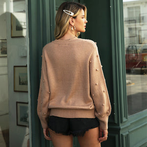 Twisted O Neck Sweater