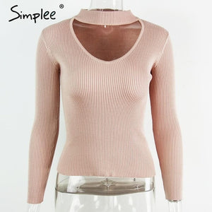 Slim Knitted Sweater