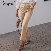 Load image into Gallery viewer, Casual Khaki Pants