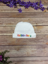 Load image into Gallery viewer, Rainbow Baby Infant Cap - Rainbow Babies, LLC