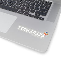 Toneplus Kiss-Cut Stickers White Logo