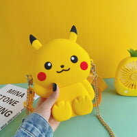 Action Japan Anime Pikachu Figure Women Mini Shoulder Bag Miyazaki Hayao Cartoon Toroto Model Small Phone Bags Gift Toys for Kid