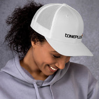 Toneplus Trucker Cap Black Embroidered Logo