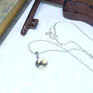 Eastern Tiger Swallowtail Butterfly Dainty Necklace - The Steampunk Butterfly