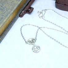 Load image into Gallery viewer, 88 Butterfly Charm Necklace - The Steampunk Butterfly
