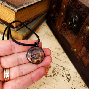 Zodiac and Horoscope Charm Necklace - Sagittarius - The Steampunk Butterfly