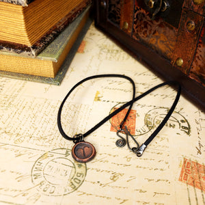 Zodiac and Horoscope Charm Necklace - Aries - The Steampunk Butterfly