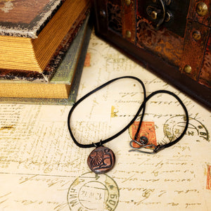 Zodiac and Horoscope Charm Necklace - Leo - The Steampunk Butterfly